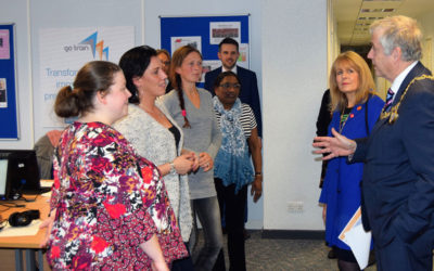 Mayor Sees Learners Go Far At New Chatham Training Centre