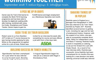 Go Train Learner Success Newsletter September 2018